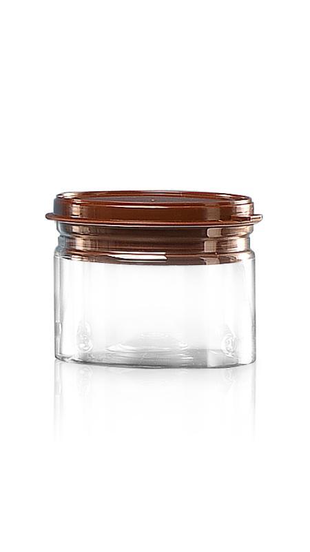 PET Aluminum / Plastic Easy Open Can (307-300P) - Pet-Plastic-Bottles-Round-307-300P