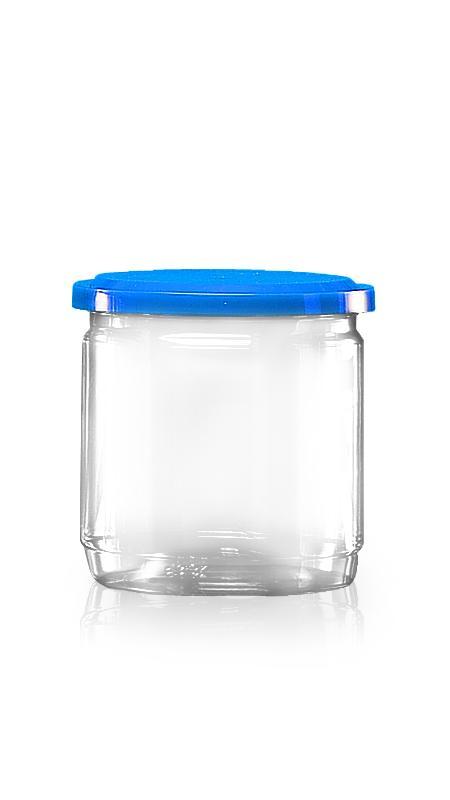 PET Aluminum / Plastic Easy Open Can (307-450) - Pet-Plastic-Bottles-Round-307-450