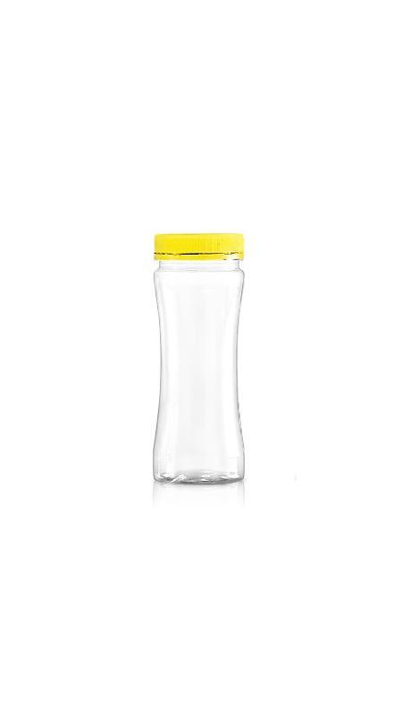 PET 53mm Series Wide Mouth Jar (F260) - Pet-Plastic-Bottles-Round-F260