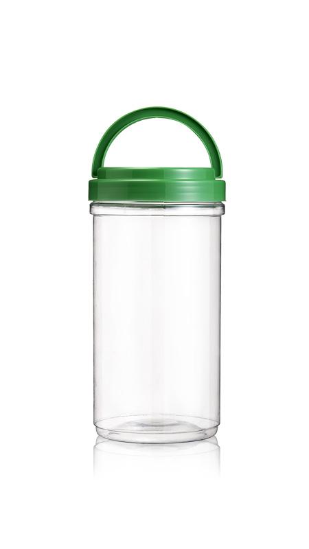 PET 120mm Series Wide Mouth Jar (J2200) - Pet-Plastic-Bottles-Round-J2200
