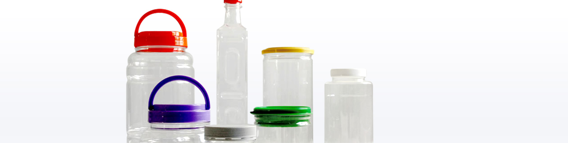 Wide Mouth Plastic Jar