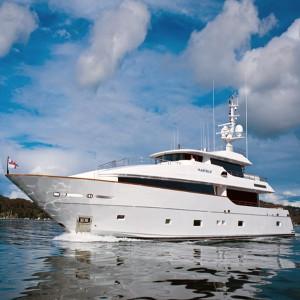 MF 122 Custom Superyacht