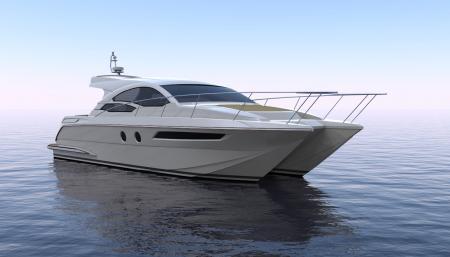 双体船型游艇MF47