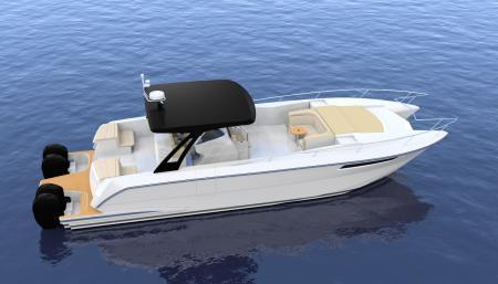 双体船型游艇MF47 CC with fwd cabin