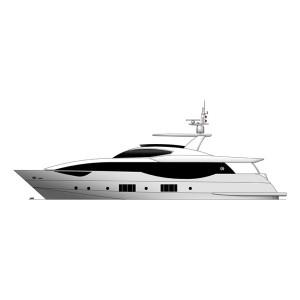 Superyacht personalizado MF 98