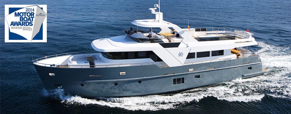 モンテフィノE85エネルギー効率の高いヨット